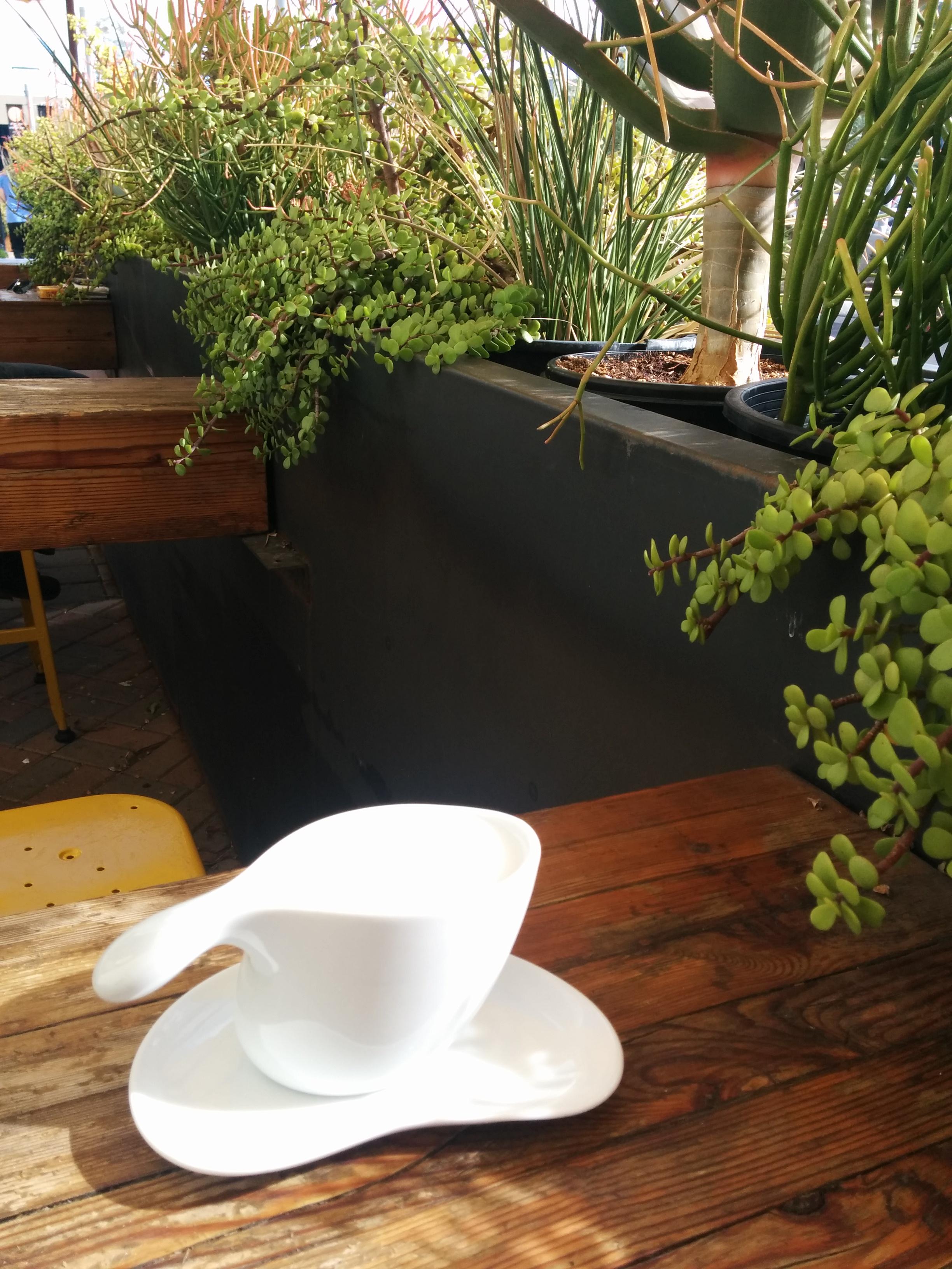 A cappuccino at Royal Coffee